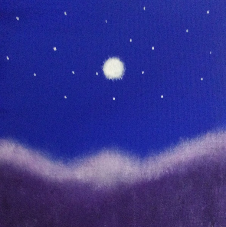 """"""" moon valley """" ( miniature size) - Image 0"""