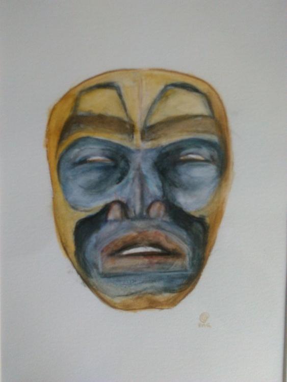 Tlingit face mask - Image 0