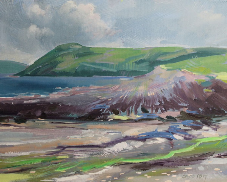 Manorbier Beach at Low Tide - Image 0