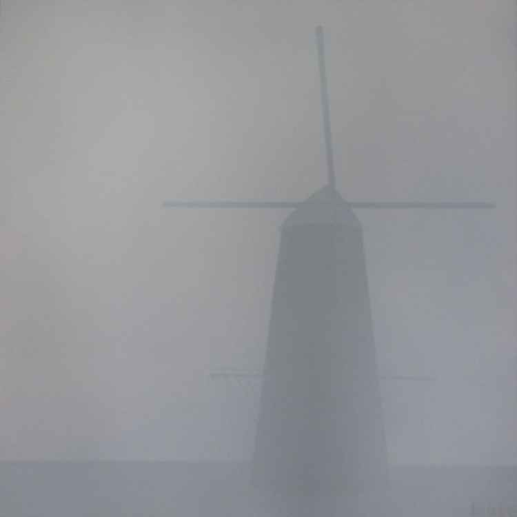 mill in the mist -