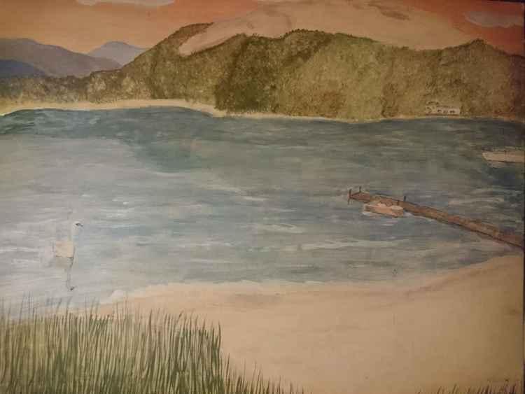 Lake side calm -