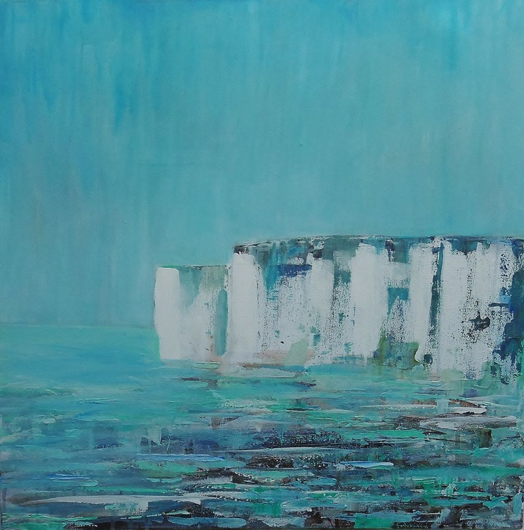 White Cliffs, Turquoise Tide - Image 0