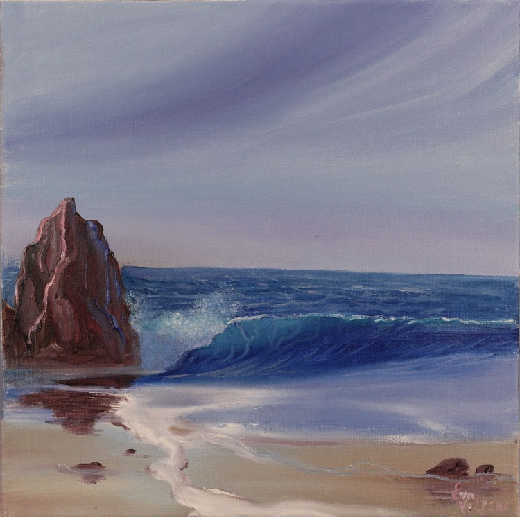 "Evening Tide 12x12"" - Image 0"