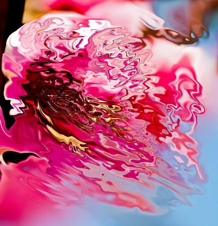 dissolving pink color - Image 0