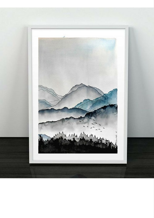 Mountain landscape - Image 0