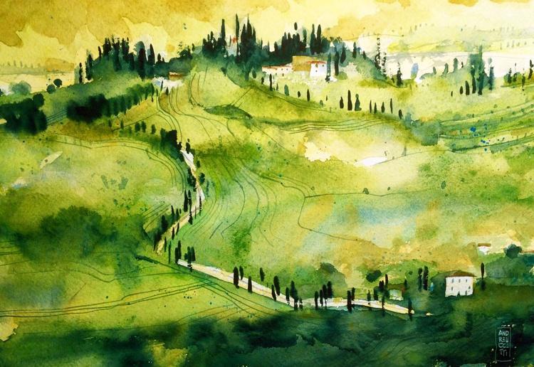 Tuscan countryside - Image 0