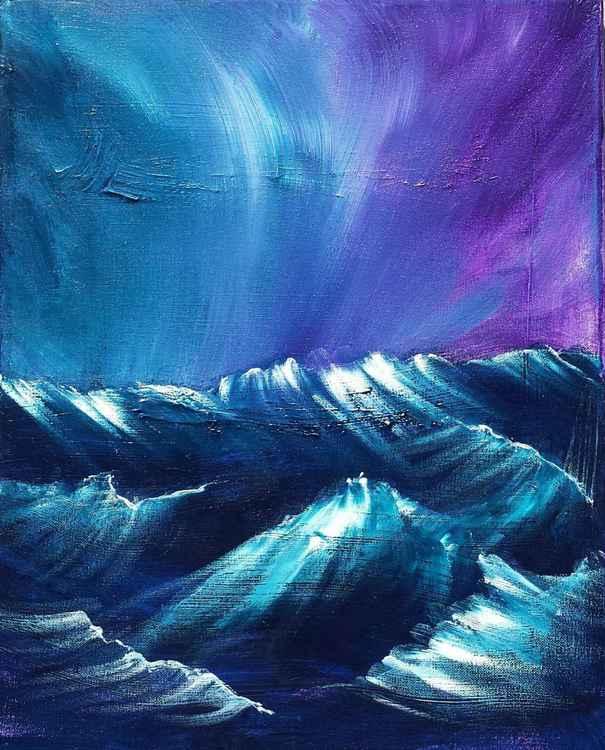 Carlsbad Stormy Sea -