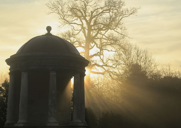 Lady Louisa's Temple at Daybreak Castletown House - Image 0