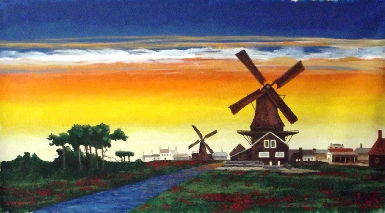 Windmills in Holland - Image 0