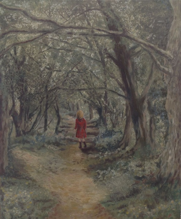 Girl in the Red Coat - Image 0