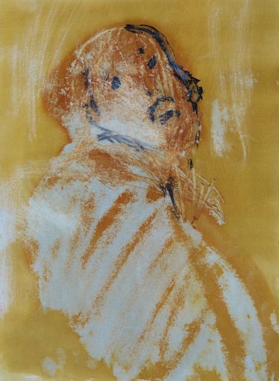 Introspectus #2 , Acrylic on paper 29x41 cm - Image 0