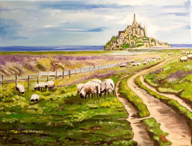 Summer  on Le Mont Saint Michel - Image 0