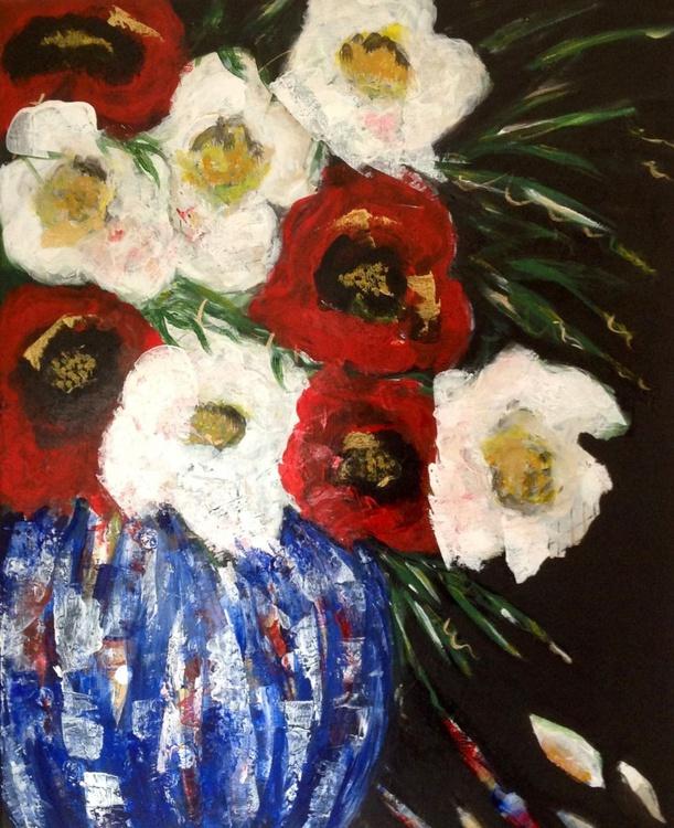 Vintage Poppies - Image 0