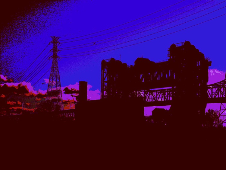 Lift Bridges At Dusk, Calumet River - Image 0