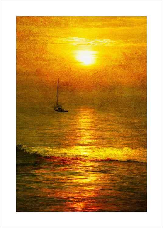 Sunrise & Yacht