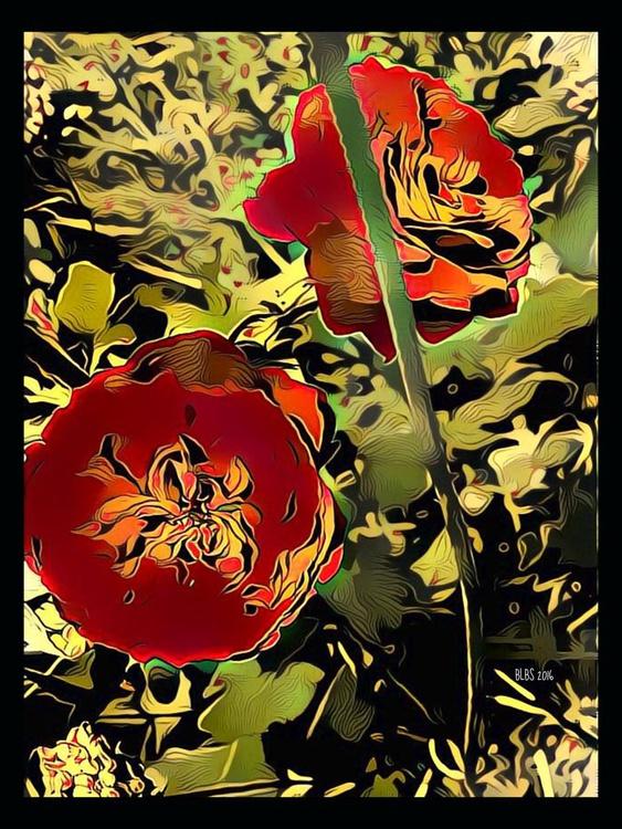 Art Deco Roses - Image 0