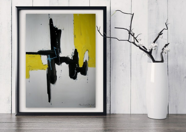 Yellow No 127, Abstract paper collection - Image 0