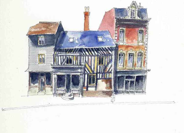 French Terraced Houses -