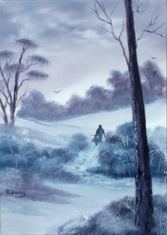 Walking in Winter. - Image 0