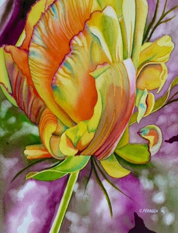 Yellow Tulip - Image 0