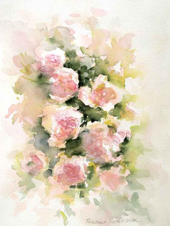 Roses -watercolor study