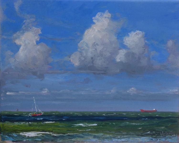 A beautiful moment on the vigorous North Sea - Image 0