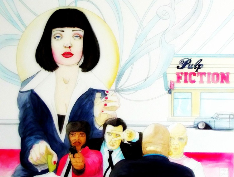 Mia Wallace in Pulp Fiction - Image 0
