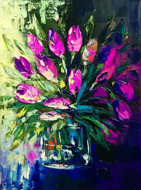 Violet tulips - Image 0