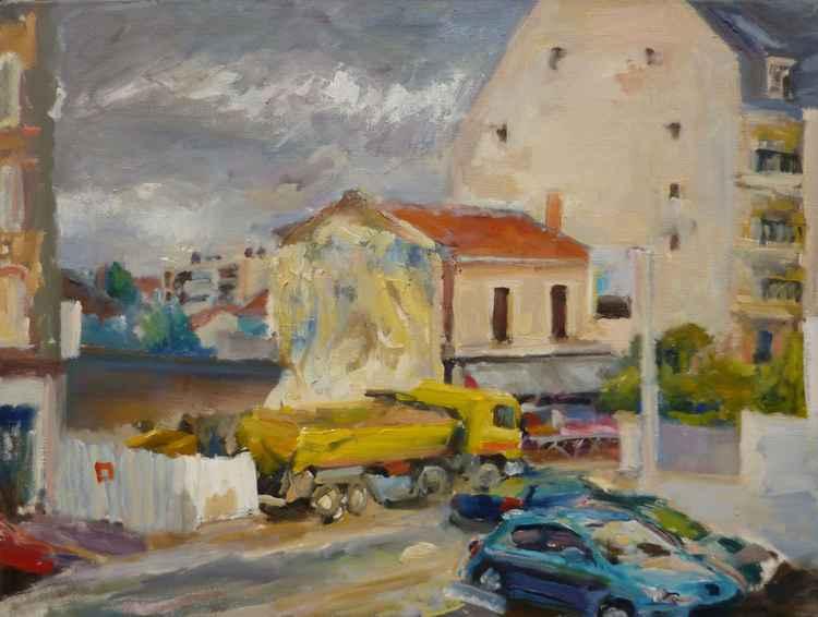 Ma rue,Alfortville,my street -