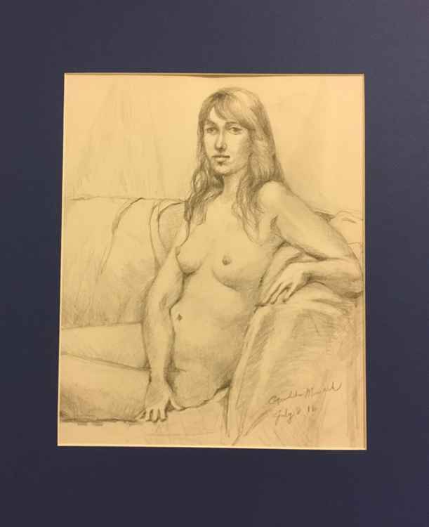 Nude Drawing 4 -
