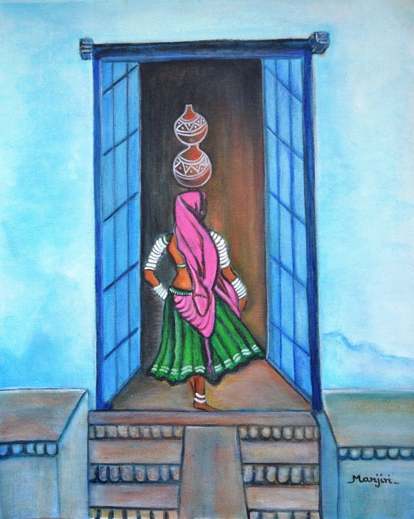 Rajasthani Beauty Amrita - Image 0