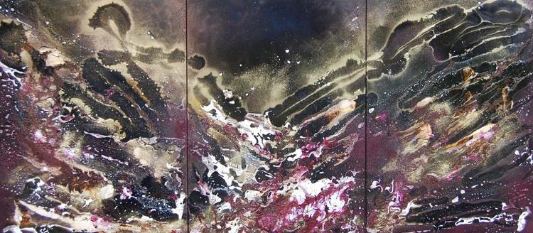 Midnight Wave Triptych - Image 0