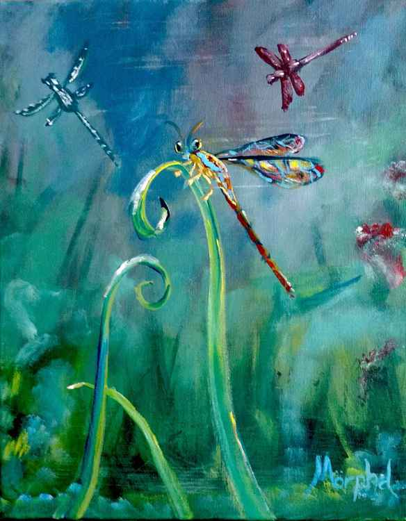 Dashing Dragonflies -