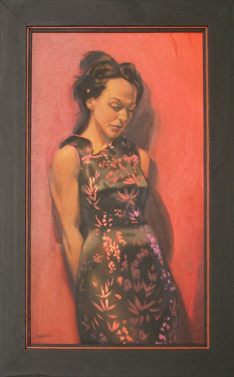 Silk dress - Image 0