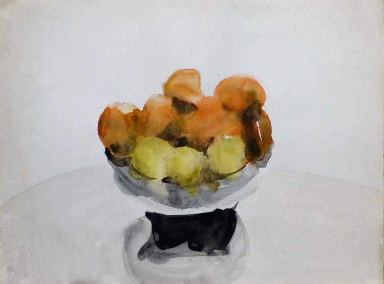 Vase of Fruit, 24x32 cm - Image 0