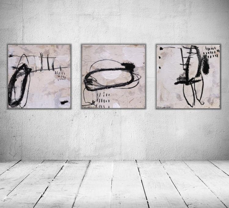 Signs (Zeichen) | Work No. 2015.15 | Triptychon - Image 0