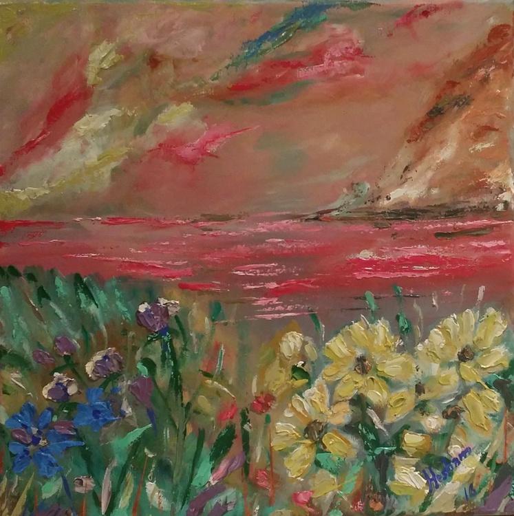 Flowers on the Sea - Image 0