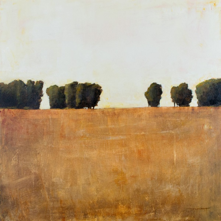 Distant Trees 24x24 inches - Image 0