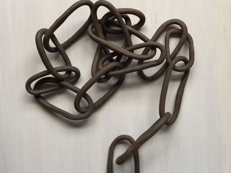 Chocolate Chain Links - 2 Sections - Image 0