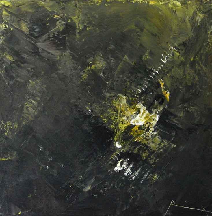 """""""Luminescence"""" abstract art"""