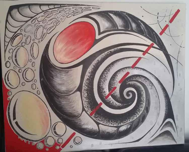 in the swirl