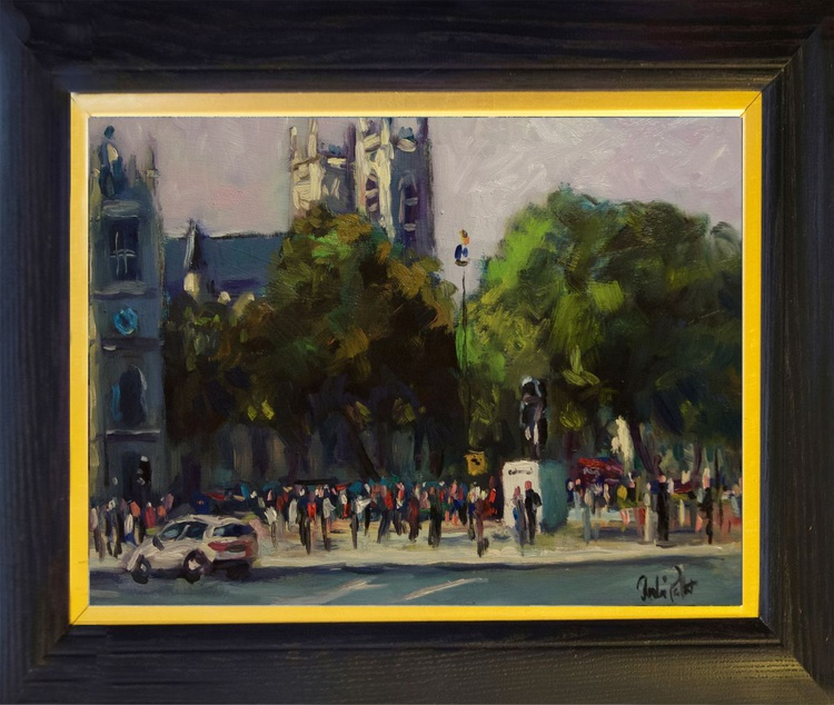Churchill and Westminster Abbey - Image 0