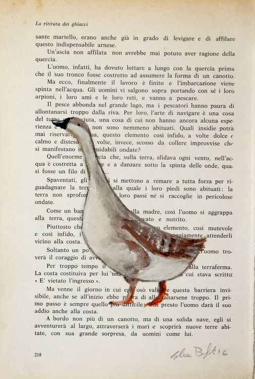 The goose on page - Image 0