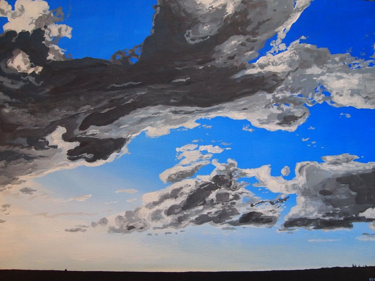 Clouds Over Sea - Image 0