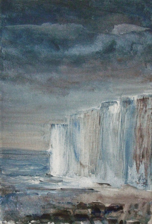 Stormy White Cliffs #2 - Image 0