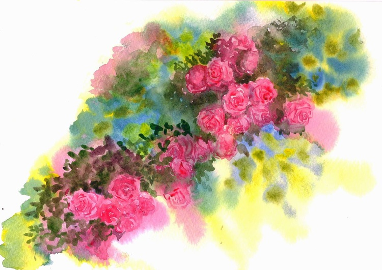 Roses on a creeper - Image 0