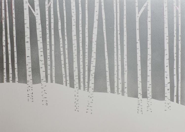 Silver Birches #12 - Image 0