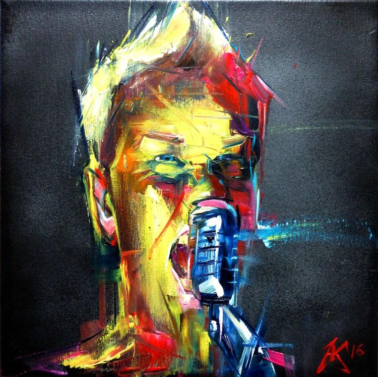 Papa Het, oil painting 30x30 cm - Image 0