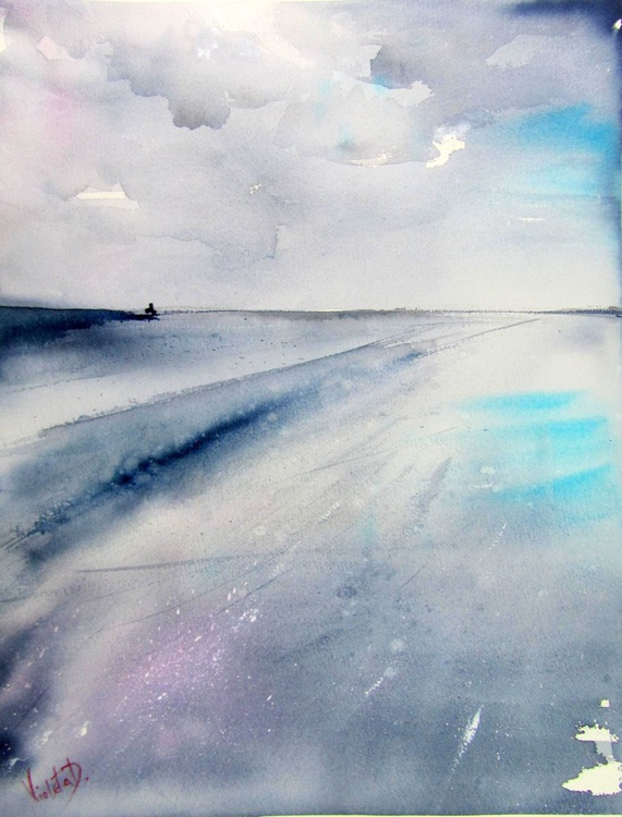 The Big Blue (40 x 53 cm) - Image 0