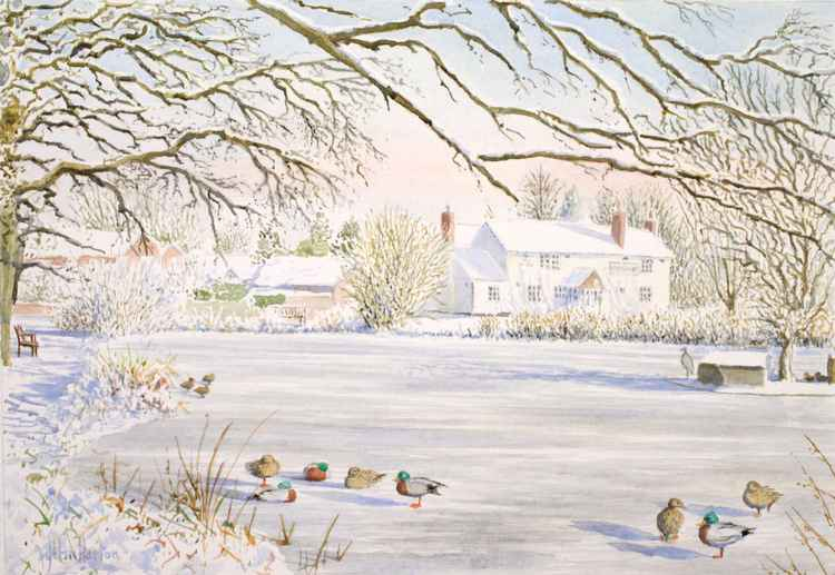 Hanley Swan, Winter -